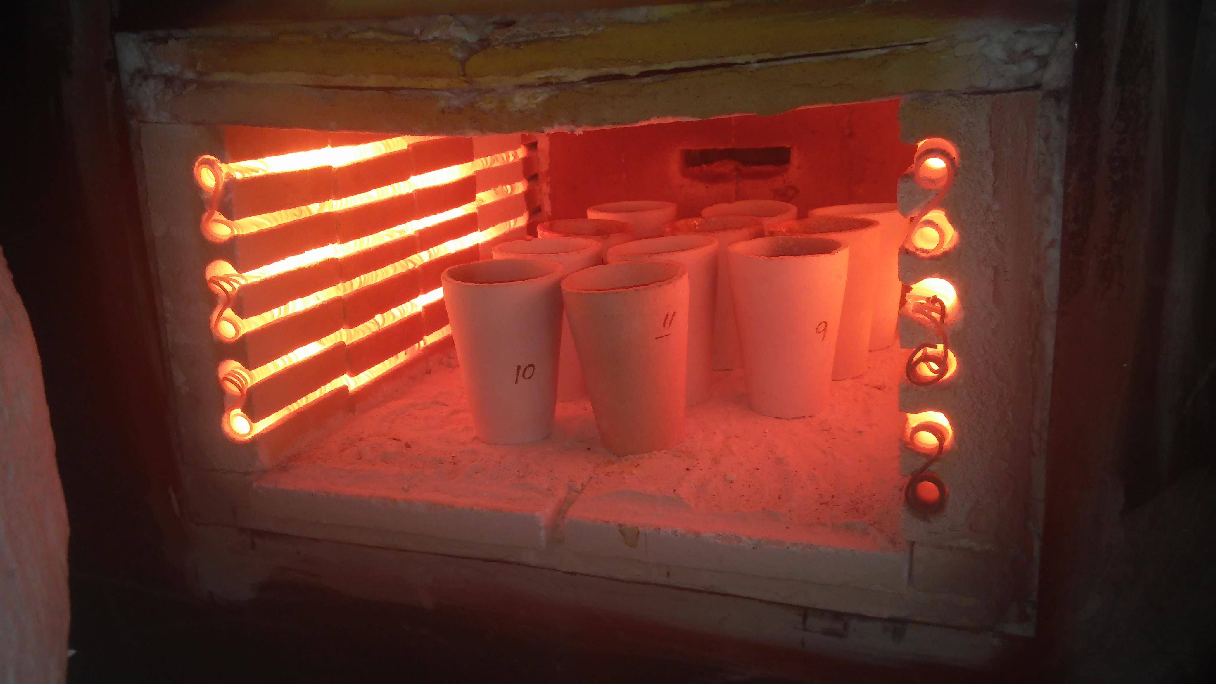 horno de fundicion